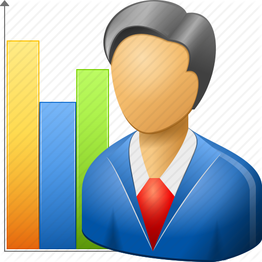 vector free stock Graph clipart person. Marketing marketer free on