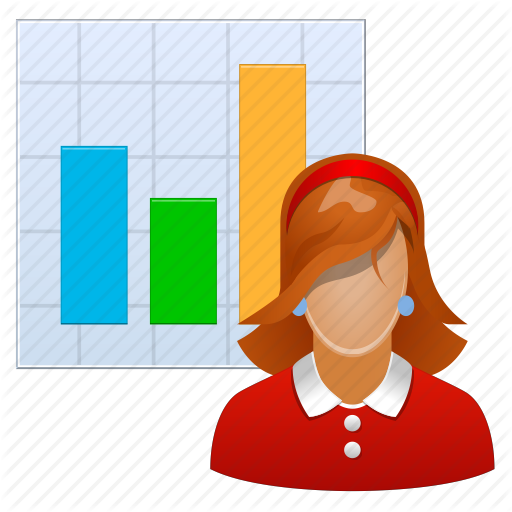 clip free stock Graph clipart person. Icons analytic free on