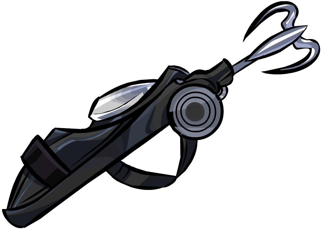 vector transparent stock Grappling Hook