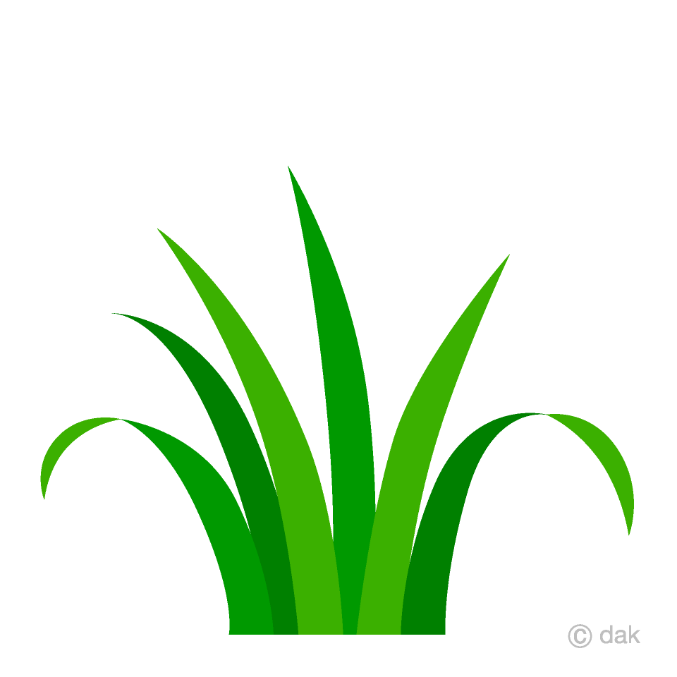 vector freeuse download Simple free picture illustoon. Grass clipart