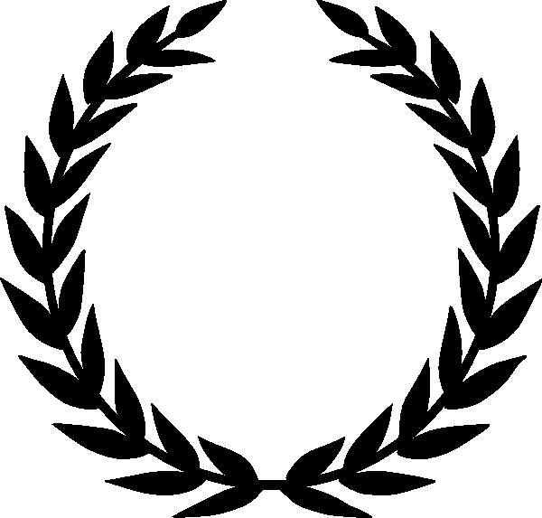 clipart download Black Laurel clip art