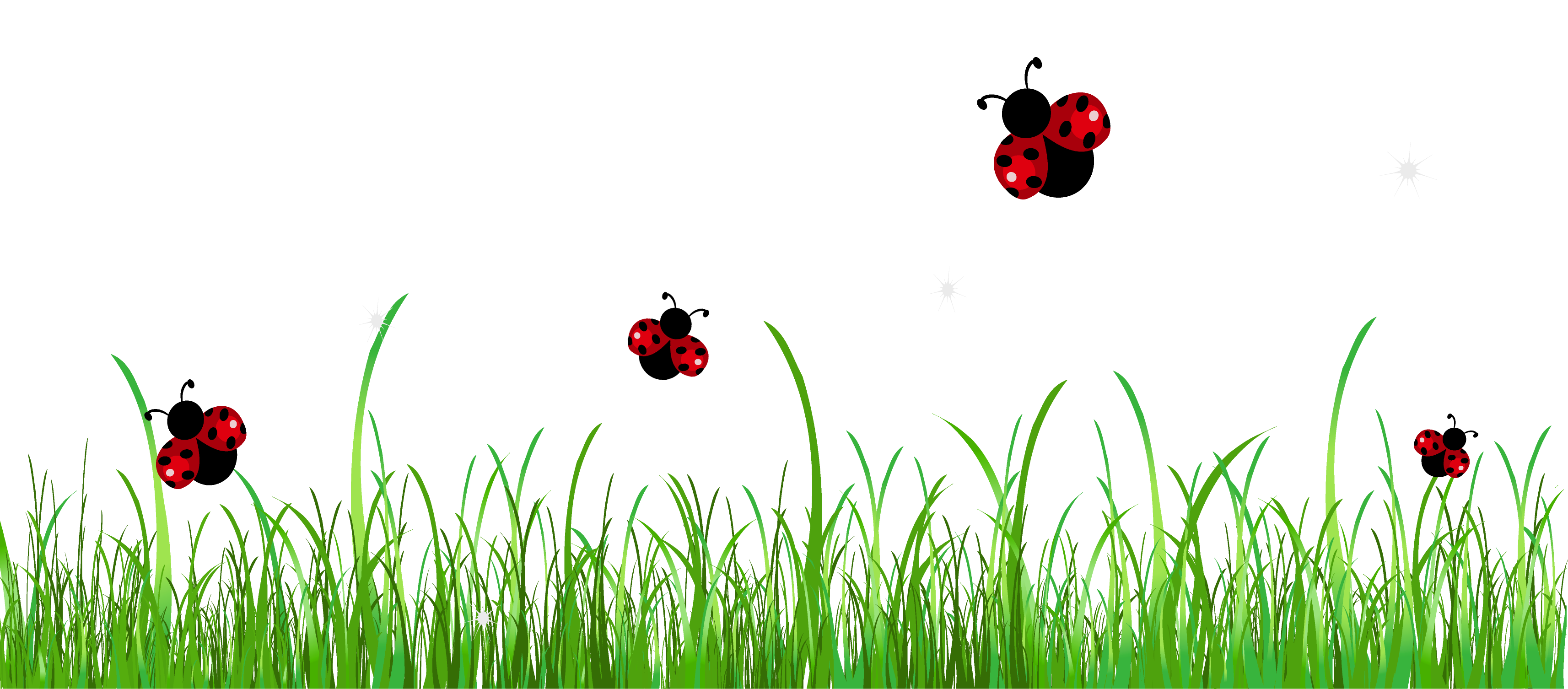 jpg freeuse download Grass with Ladybugs PNG Clipart Picture