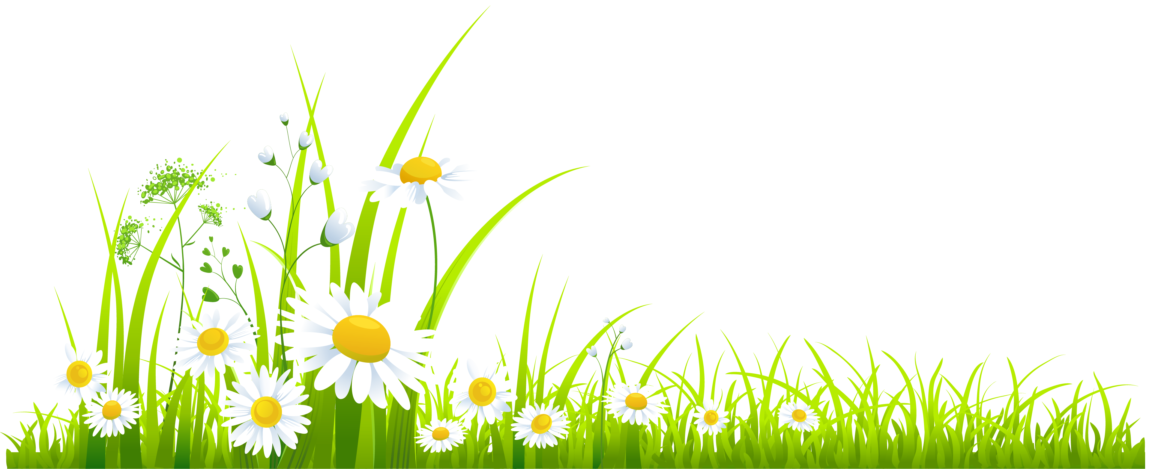 png free Spring Grass Clipart