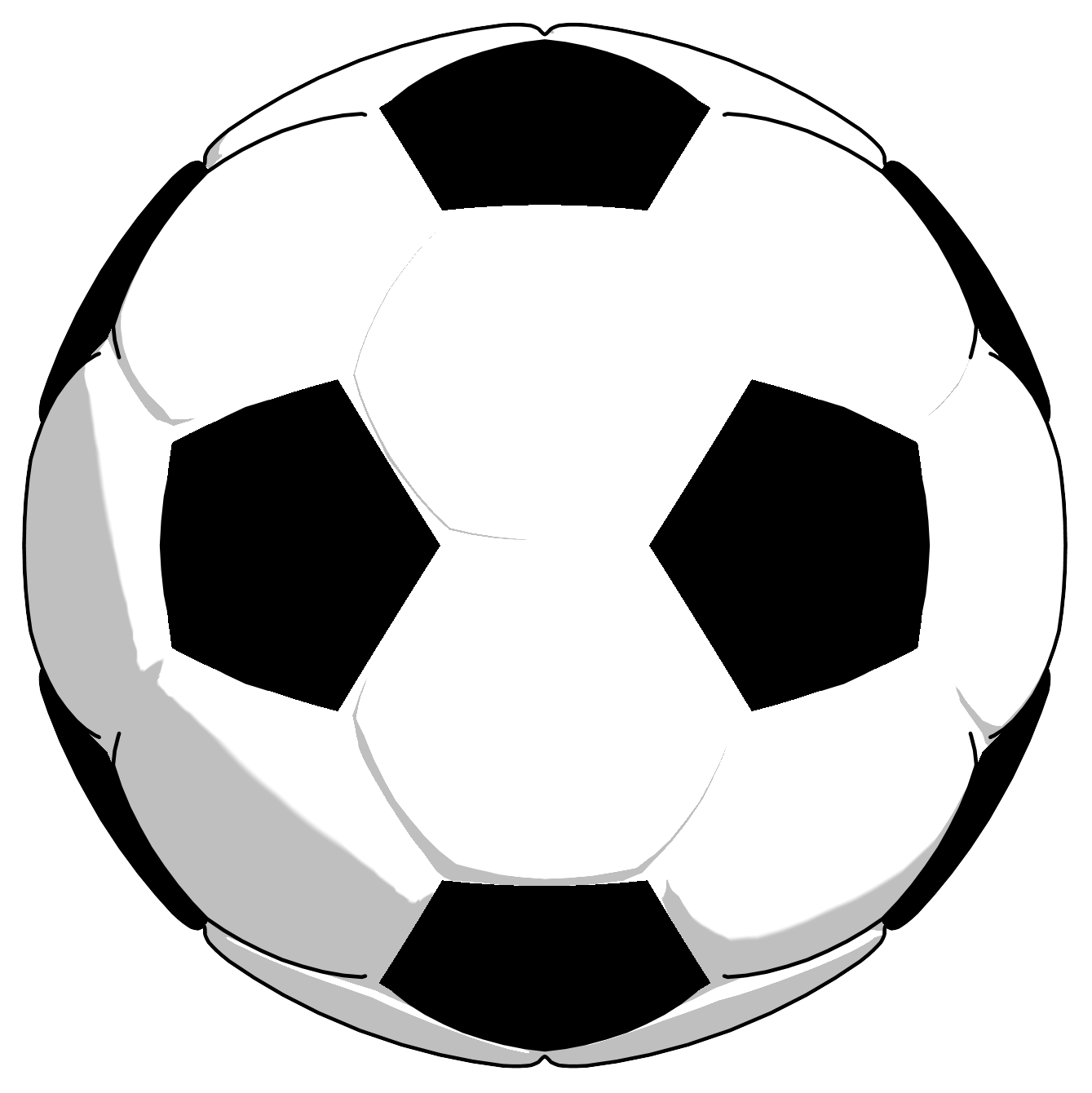 png royalty free Soccer ball png picture. Sport balls clipart black and white