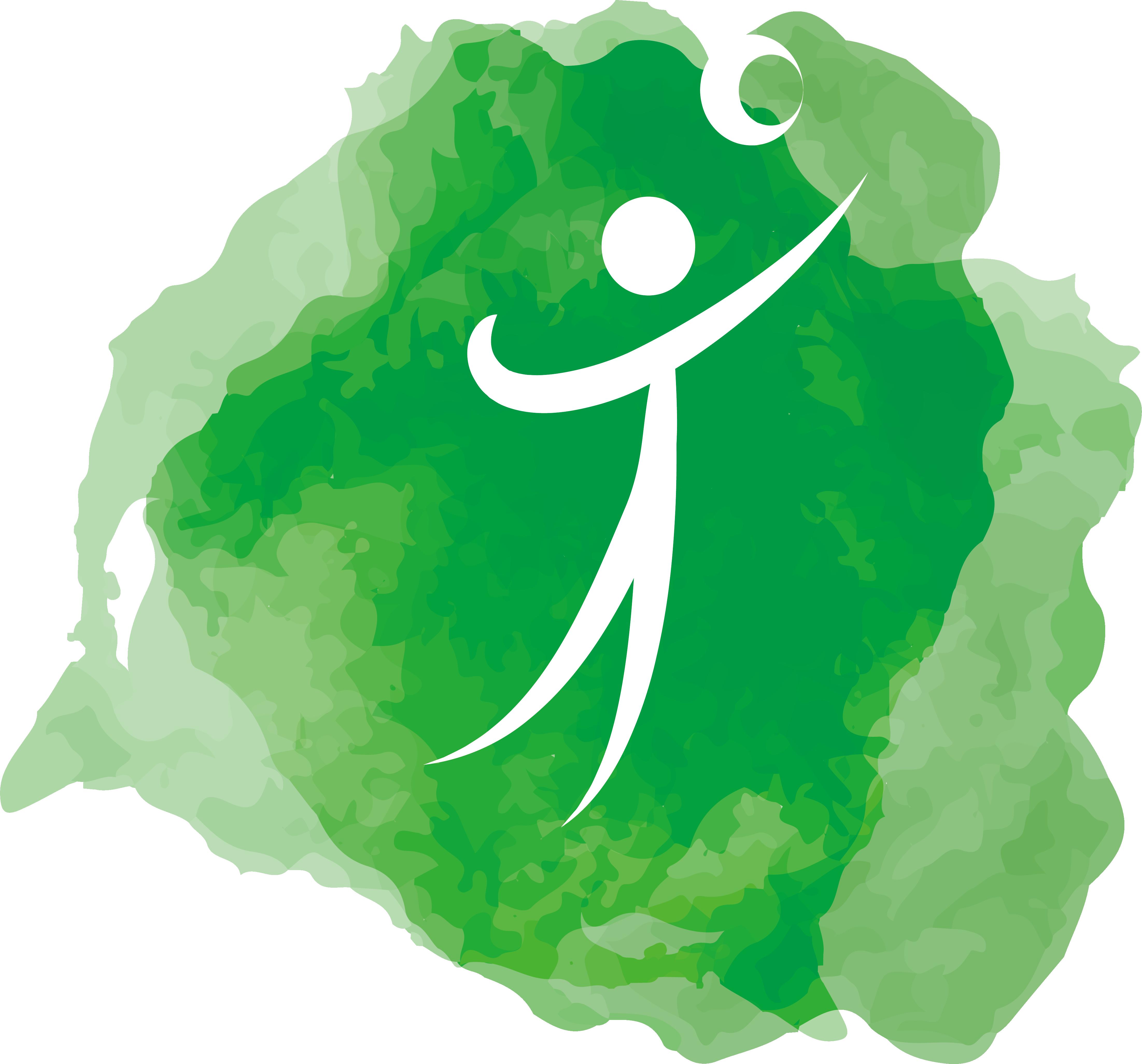 clipart Grass clipart volleyball. Logo design transprent png