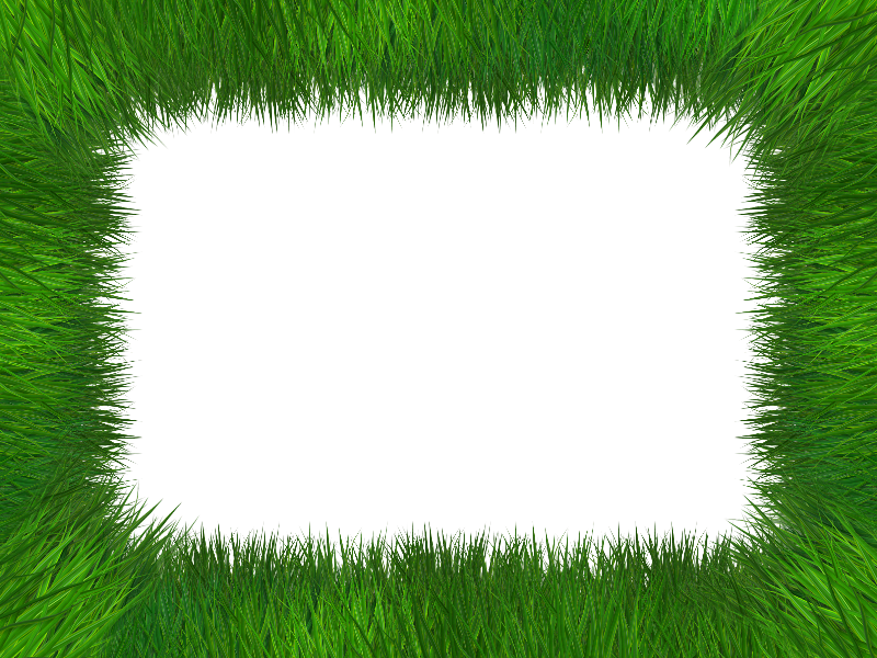 picture library Free grass clipart border. Frame isolated with transparent