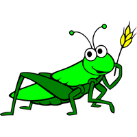 graphic free library Grasshopper clipart. Download free png photo.