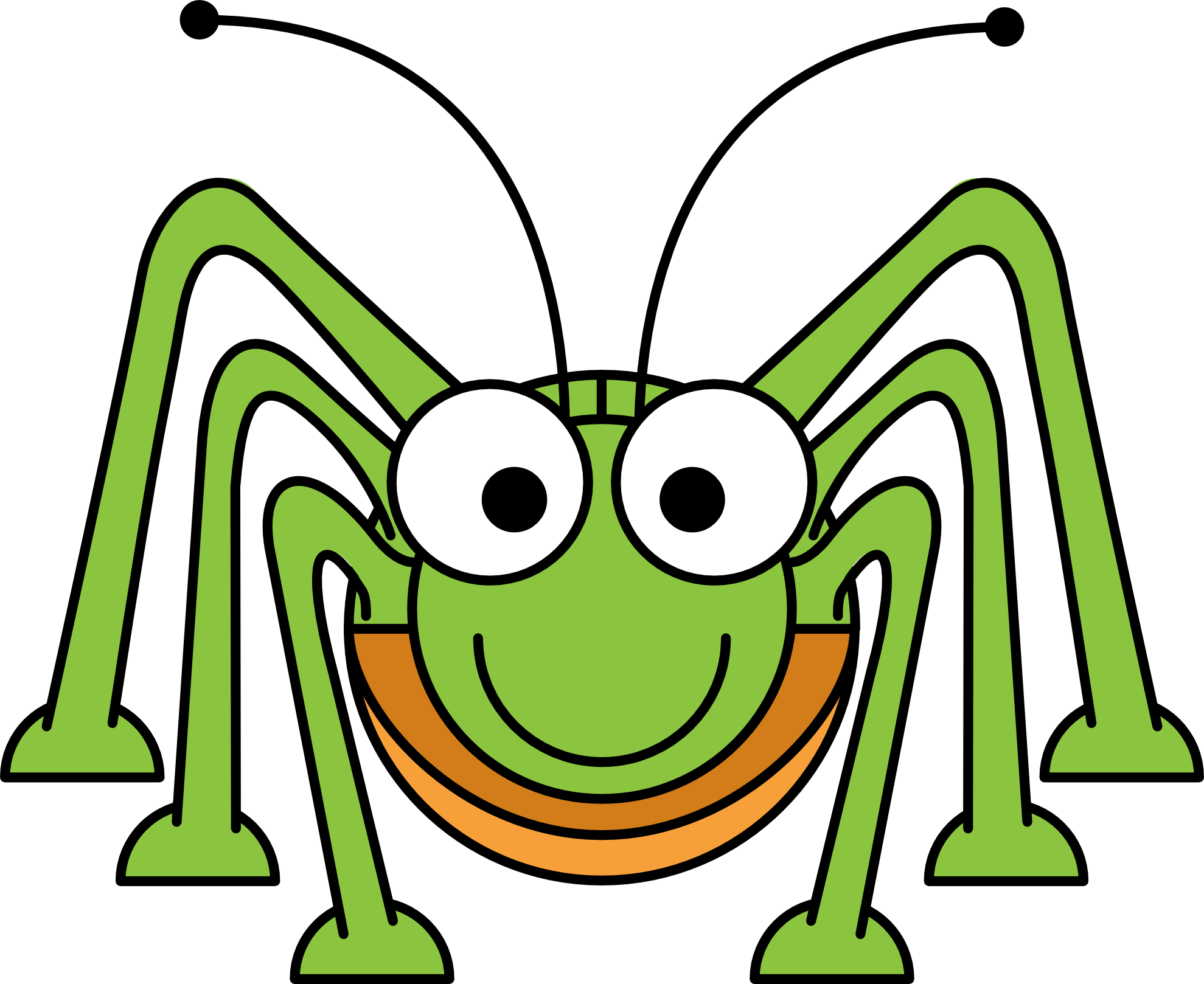 clipart stock spiders clipart toon #83832750