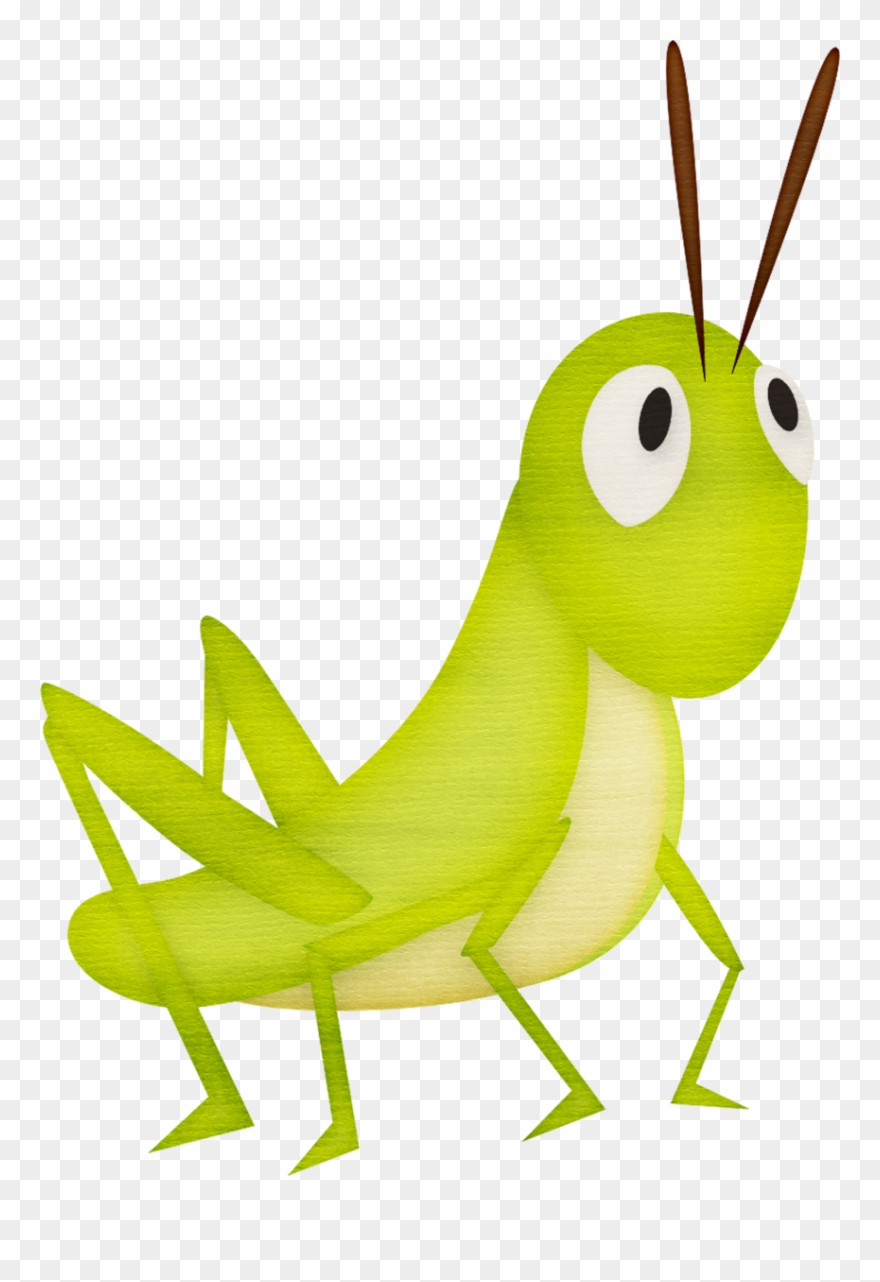 picture freeuse download Grasshopper clipart invertebrate. Insect clip art cartoon.