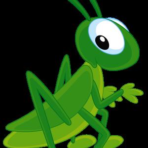 clip art Png . Grasshopper clipart jumping