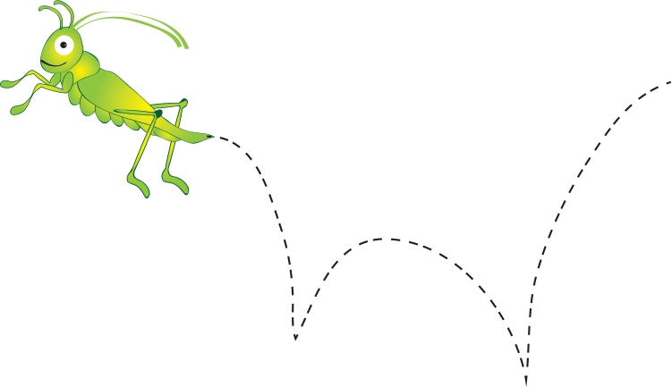 clipart stock Level c activity pages. Grasshopper clipart jumping