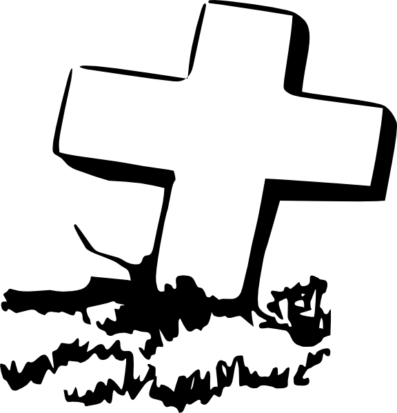 image library download Grave cross free on. Graveyard clipart.