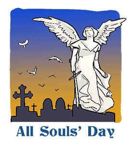 jpg free library Calendar history facts when. Grave clipart all souls day
