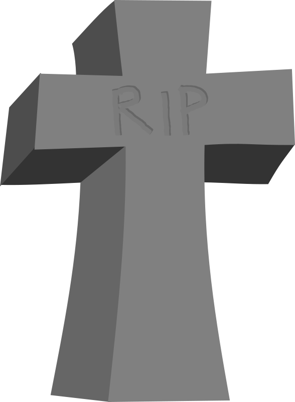 black and white stock Cross png clipart. Graves cartoon free on