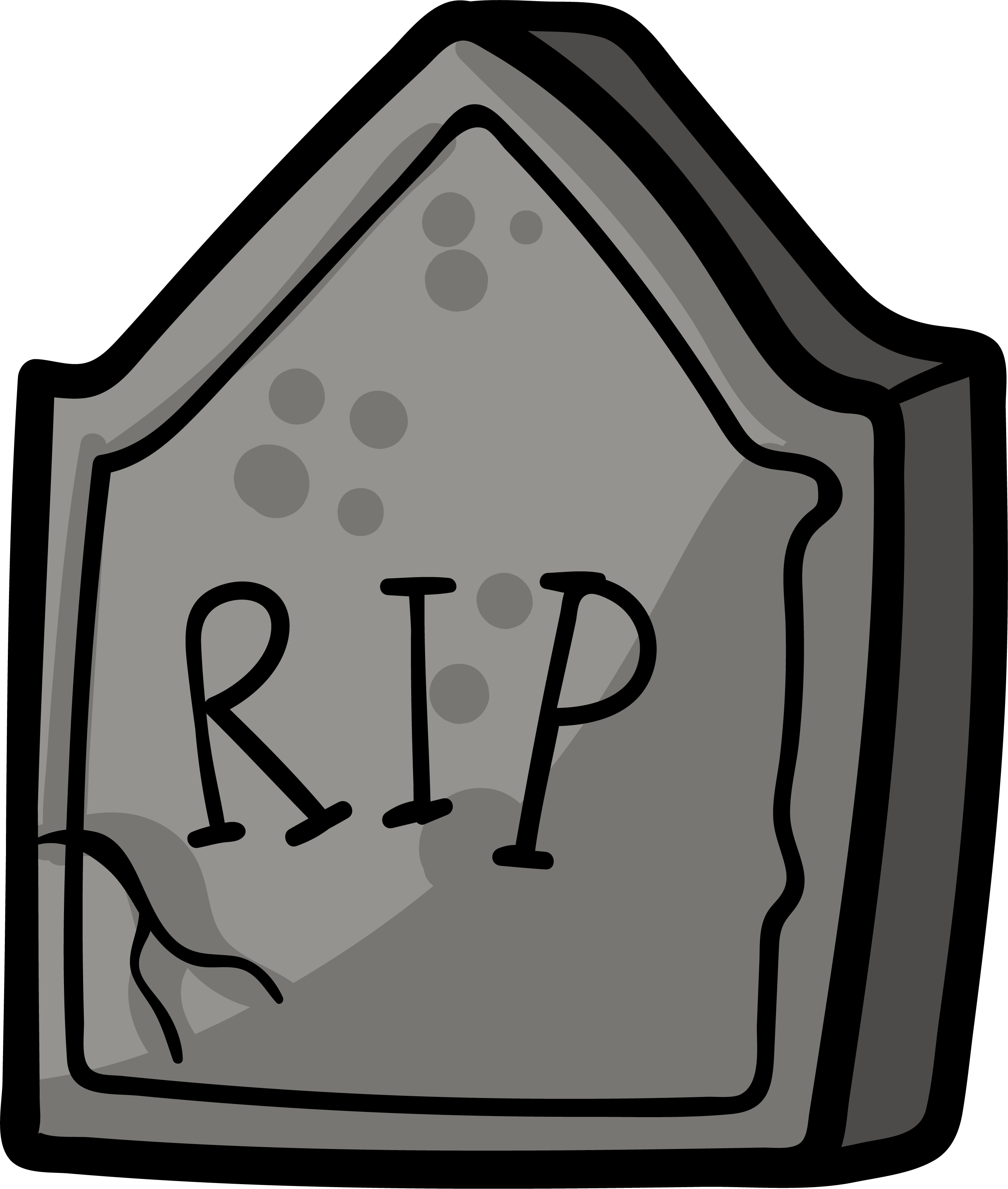 banner royalty free download Grave clipart tomb. Headstone drawing cartoon hand