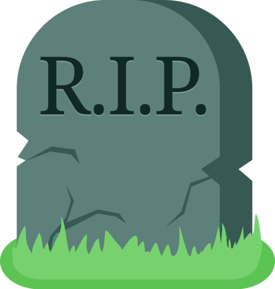 image black and white download Rip transparent png stickpng. Grave clipart