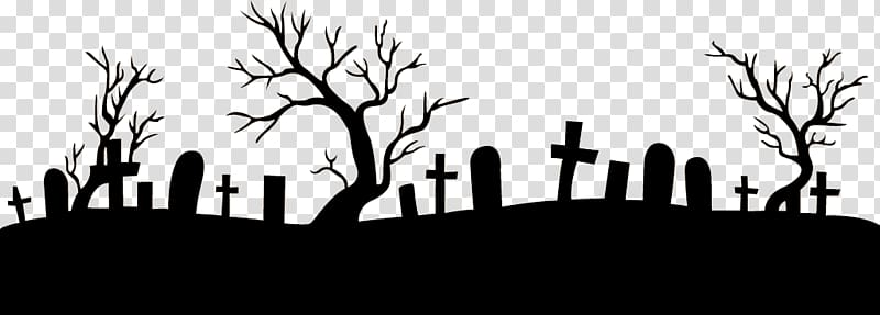 clip freeuse library Silhouette of tombstones and. Graveyard clipart.