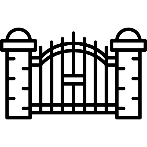 vector royalty free Graveyard clipart black and white. Horror doors spooky scary