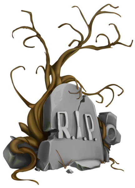 jpg transparent stock Graveyard clipart night painting. Halloween rip tombstone and
