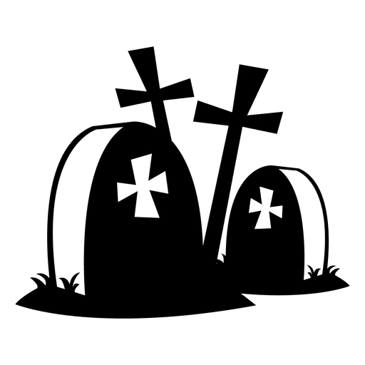 banner black and white download Graveyard clipart transparent. Tombstones png svg vector