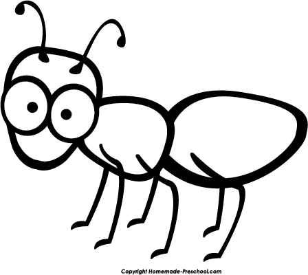 clip art library download Ants clipart black and white