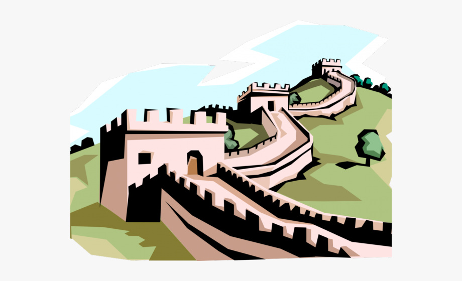 transparent download Free clip art stock. Great wall of china clipart.