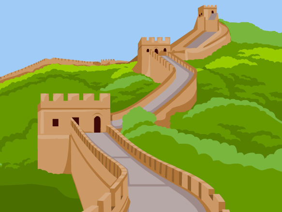 jpg Brainpop . Great wall of china clipart