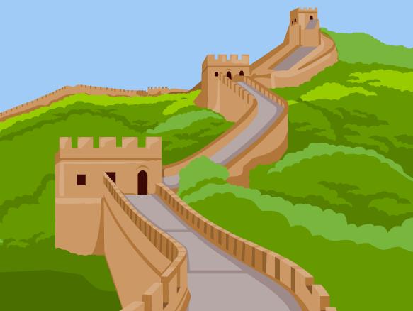 jpg Brainpop . Great wall of china clipart.