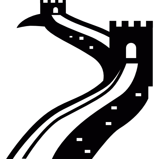 picture black and white library Great wall of china clipart. Png photos mart.
