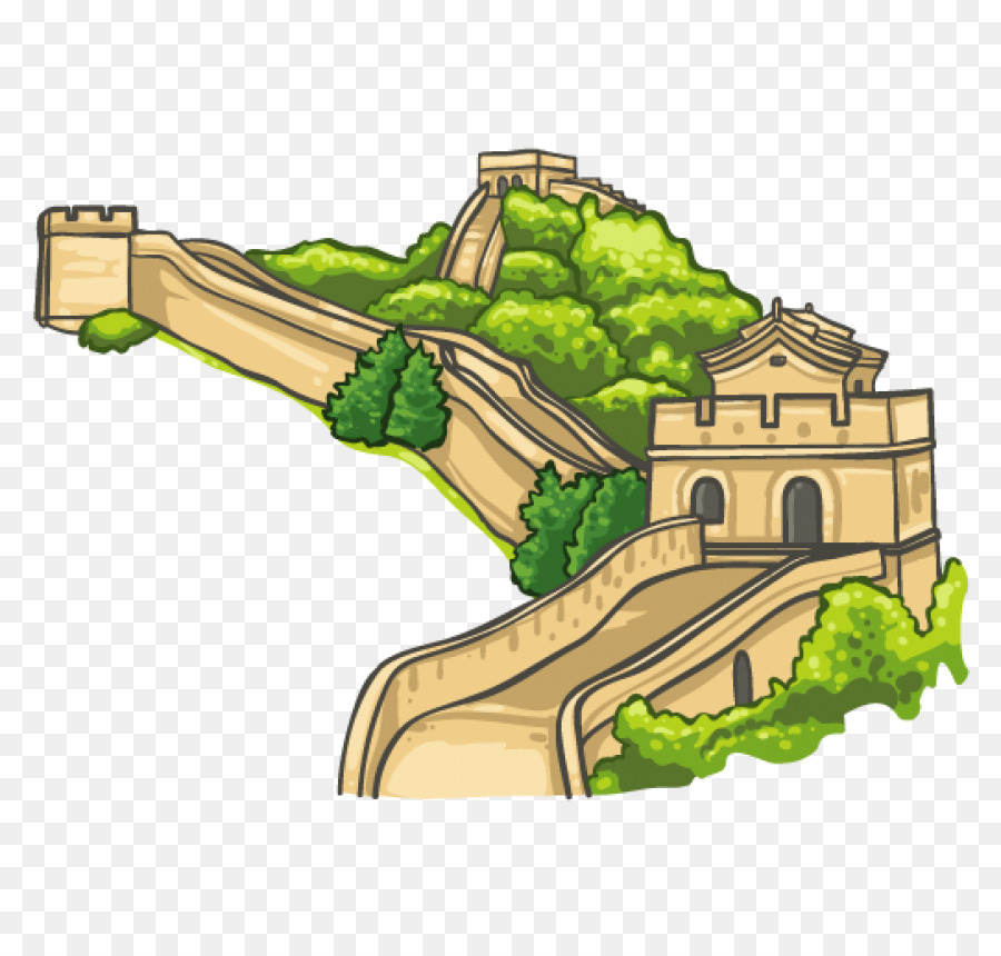 clip art library Great wall of china clipart. New wonders the world.