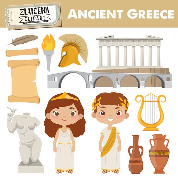 banner stock Greek clipart. Greece clip art ancient.