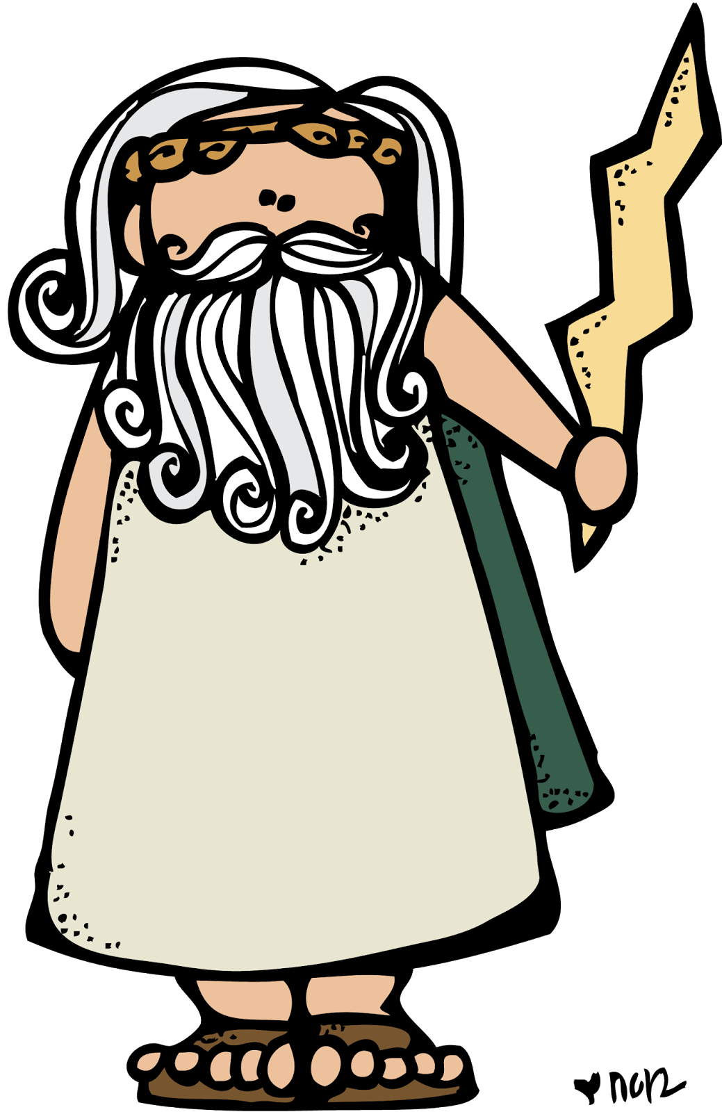 png royalty free Greek vector character. Mythology ancient greece zeus