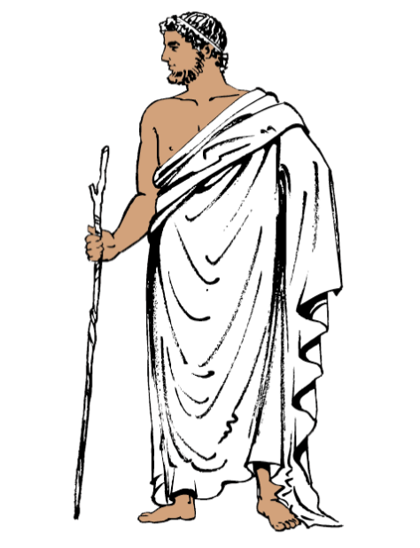 banner black and white library Ancient Greek Fashion