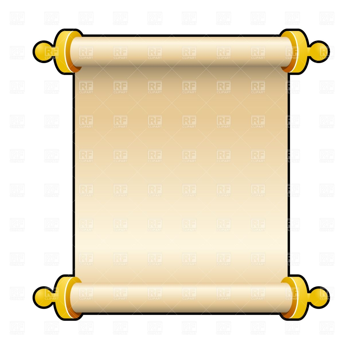 banner free Greek clipart scroll