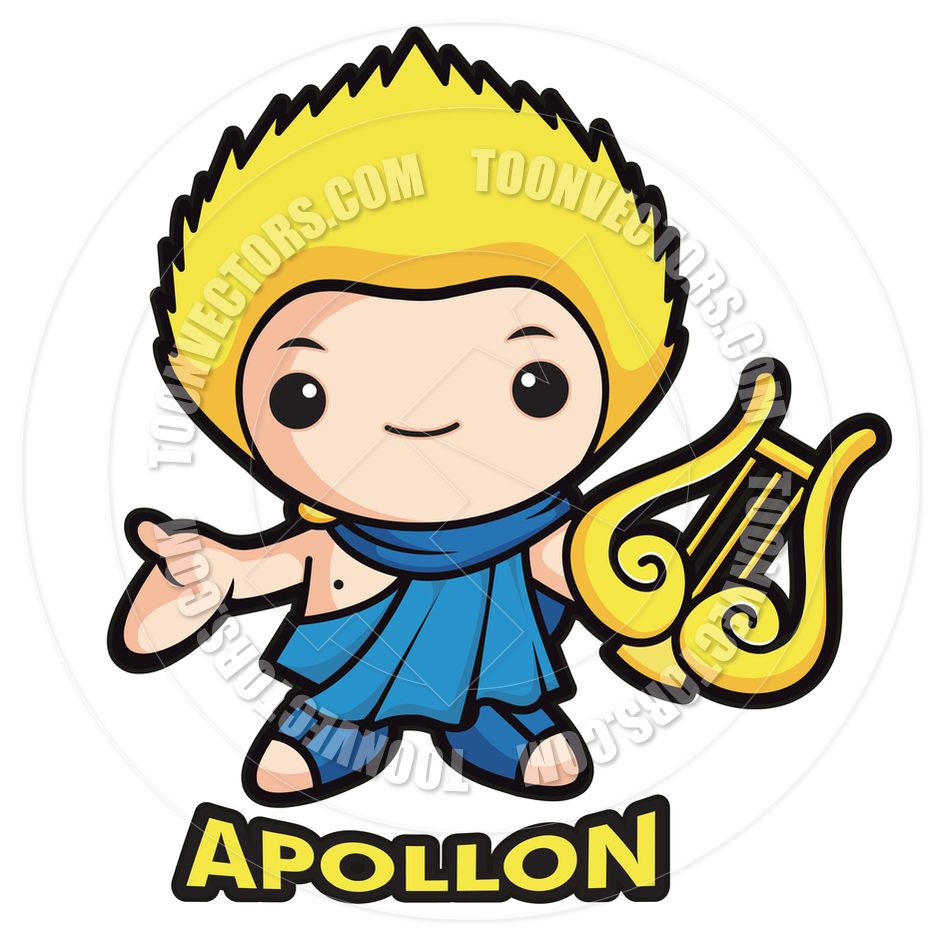clipart royalty free Pin by risa on. Greek clipart apollo god