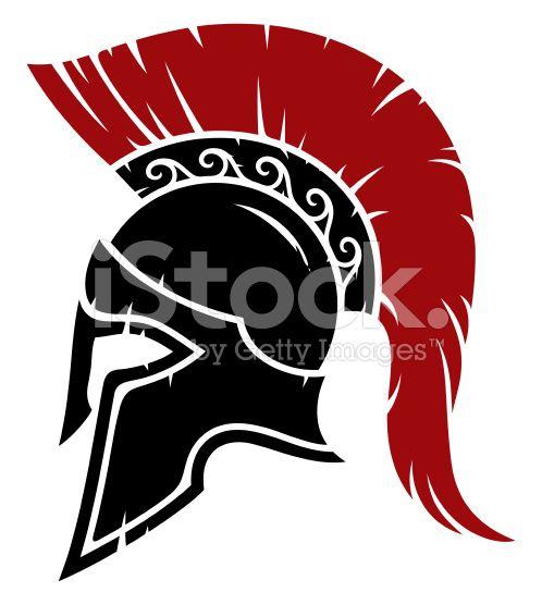 picture free Greek clipart battle helmet. Spartan warrior tattoo
