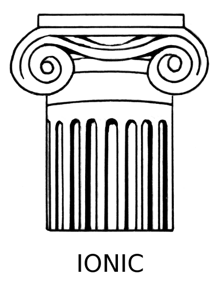 image transparent stock Free doric cliparts download. Greek clipart ionic column