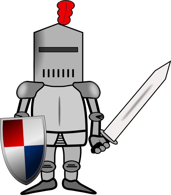 clipart transparent library Knight s transparent free. Greek clipart knight's