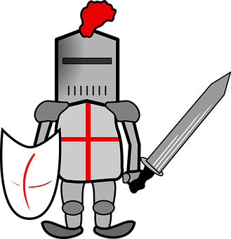 png download Greek clipart knight's. Armor armored knight free