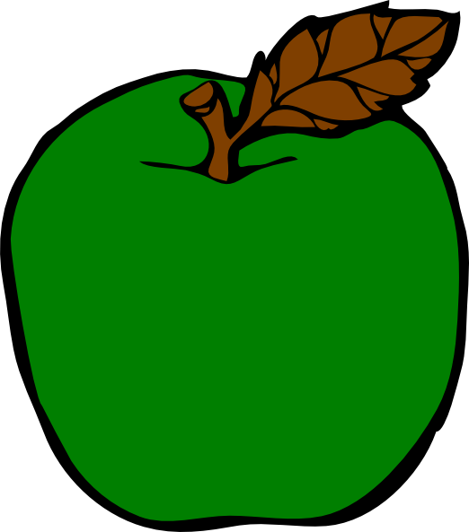 png download Apple clip art at. Green apples clipart