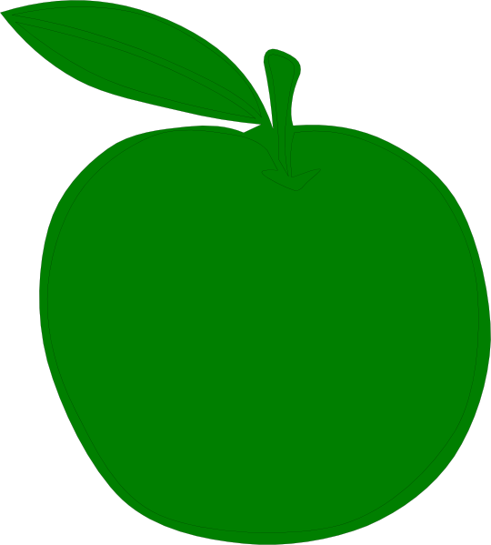 graphic free download Apple clip art at. Green apples clipart.