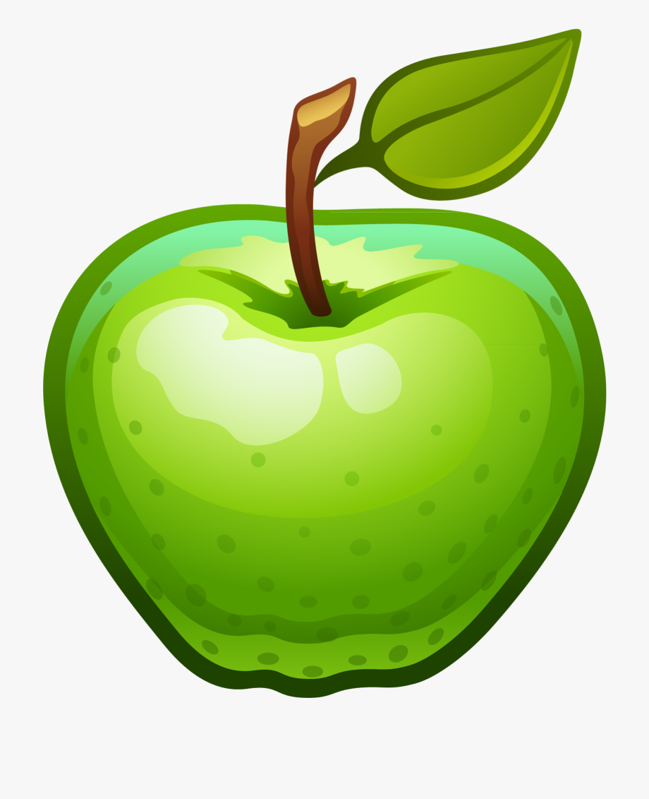 vector freeuse library Green apples clipart. Info apple png transparent.