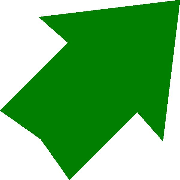jpg transparent library Right Up Green Arrow Clip Art at Clker