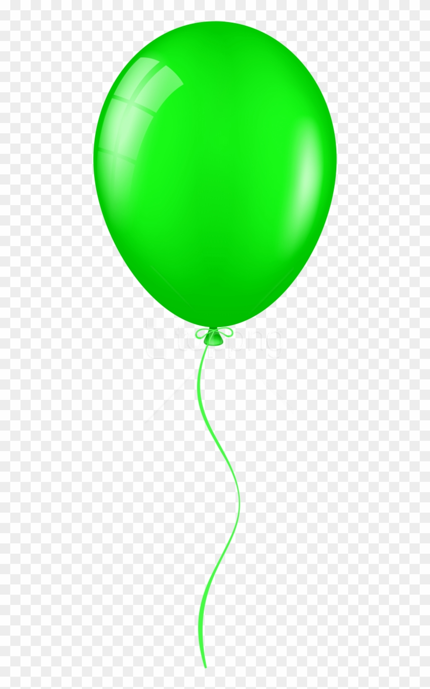 clipart freeuse Free png download photo. Green balloon clipart
