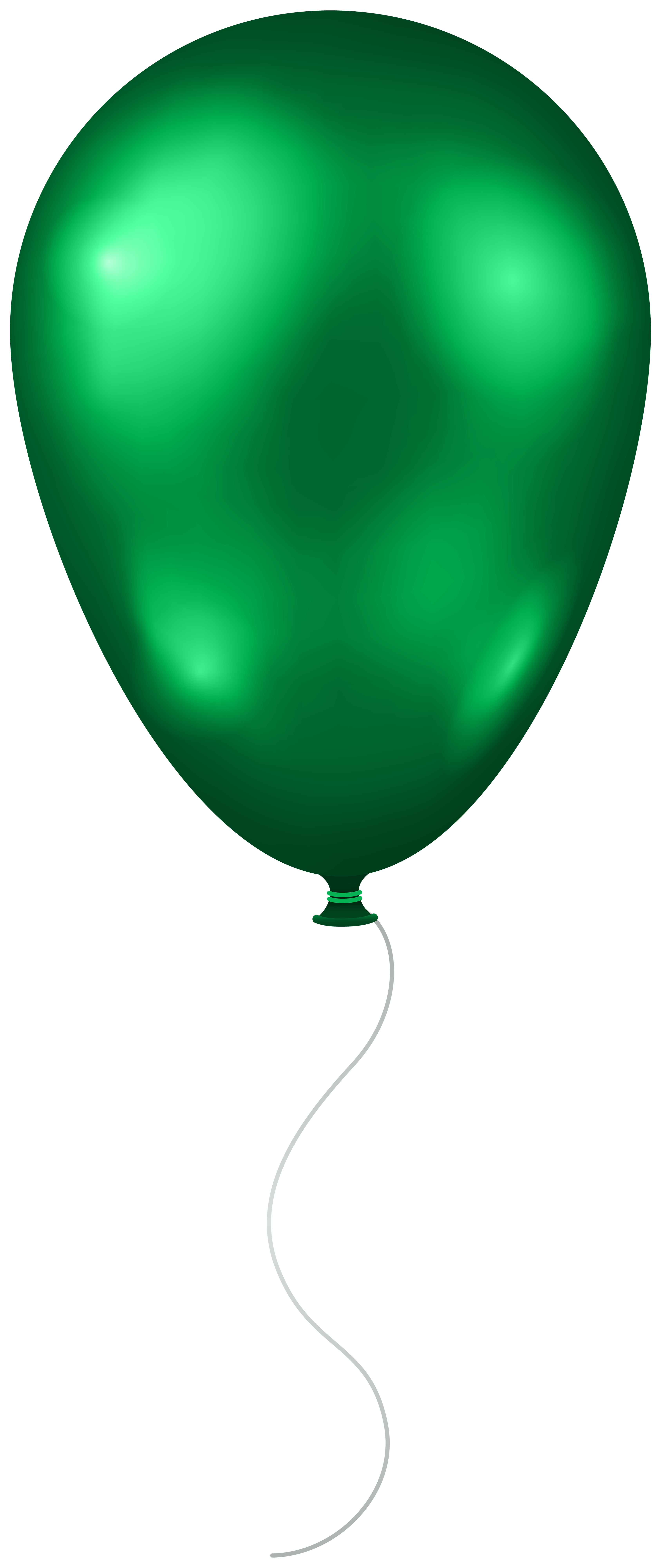 image library stock Transparent png clip art. Green balloon clipart