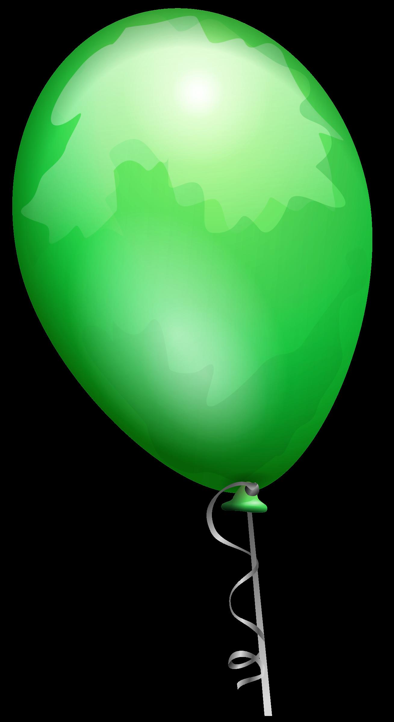 transparent library Clipart green big image. Vector balloon original