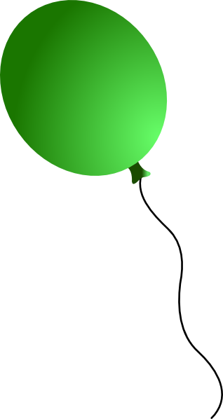 image download Green Balloon Clip Art at Clker