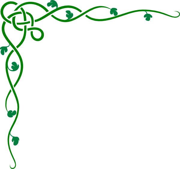 png black and white Green Border Clipart