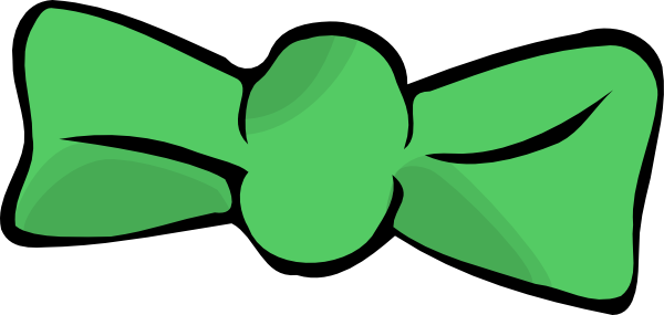 png transparent download Green Bow Tie Clip Art at Clker