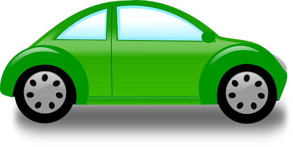 picture freeuse stock Green Car Free Clipart